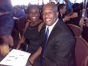 Lionel & Closhell at the Teacher's Gala