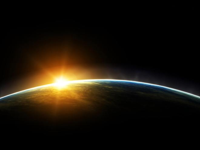 earth-sunrise-on-horizon