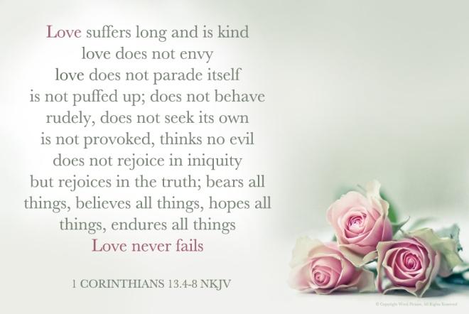 1Corinthians13.4-8