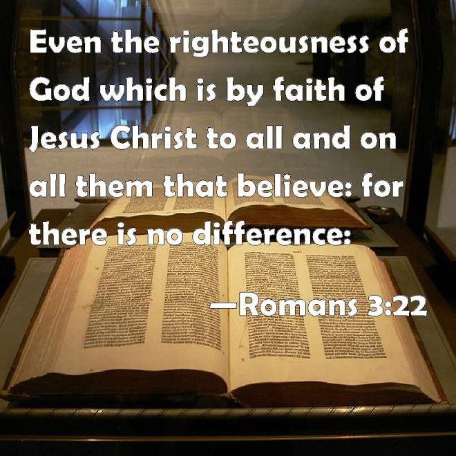 Romans 3 22