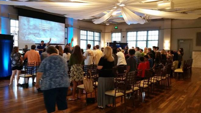 GFE worship service 2